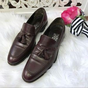 Salvatore Ferregamo Men's Tassel Dress Shoes